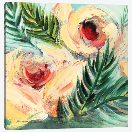 Tropical Breeze Canvas Print #NKW24} by Nikol Wikman Canvas Print