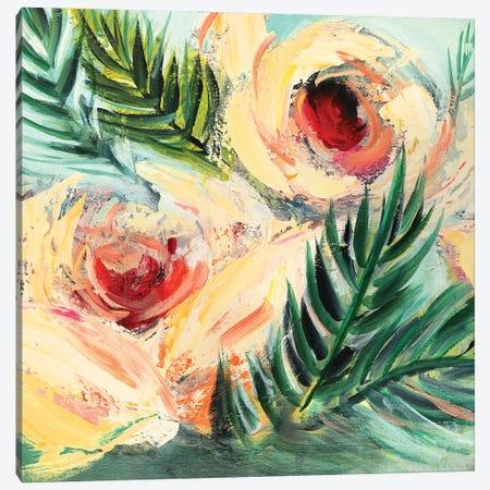 Tropical Breeze Canvas Print #NKW24} by Nikol Wikman Canvas Print
