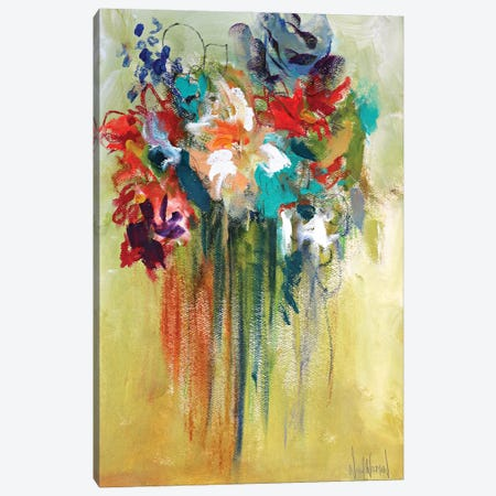 You Belong Among The Wildflowers Canvas Print #NKW29} by Nikol Wikman Canvas Art