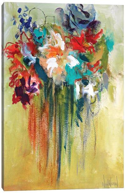 You Belong Among The Wildflowers Canvas Art Print