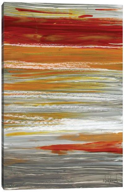 Autumn Stripes Canvas Art Print