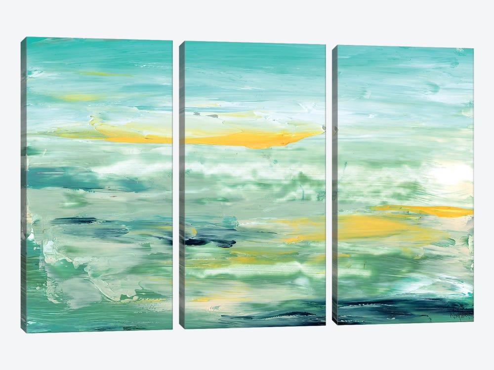 New Beginnings by Nikol Wikman 3-piece Canvas Art