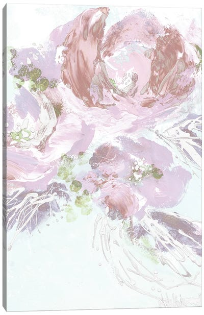 Abstract Floral Canvas Art Print