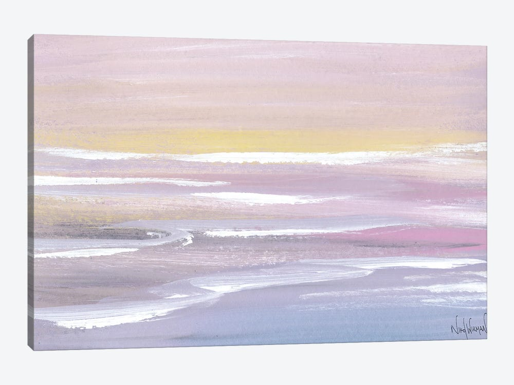 Soft Waves by Nikol Wikman 1-piece Canvas Art