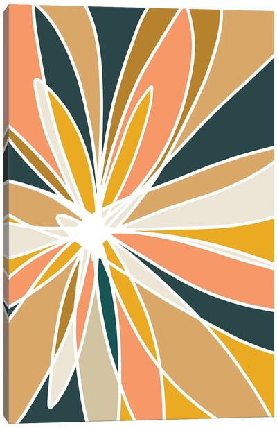 Mod Flower II Canvas Art Print