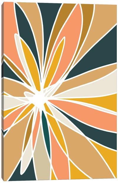 Mod Flower II Canvas Art Print
