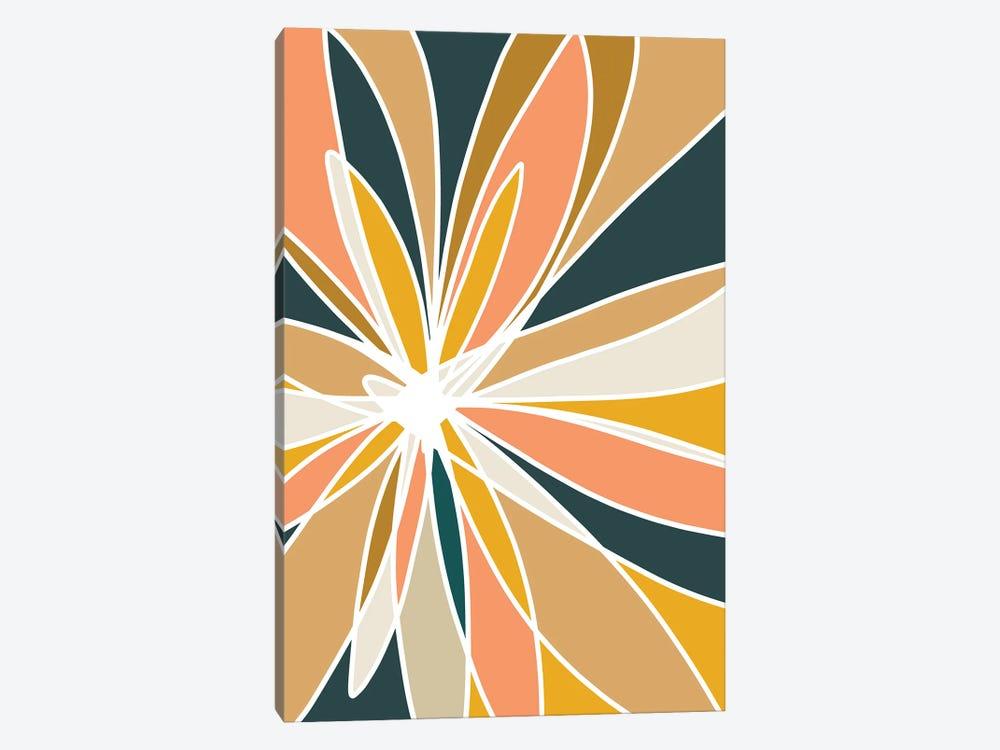 Mod Flower II by Nikol Wikman 1-piece Canvas Print