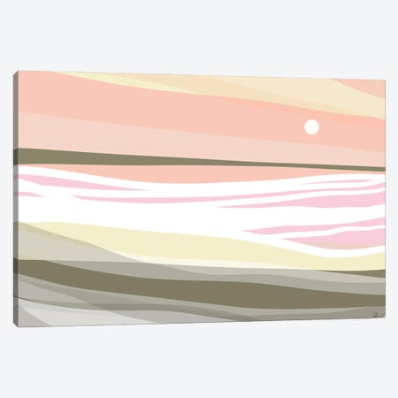 Horizon Canvas Print #NKW53} by Nikol Wikman Art Print