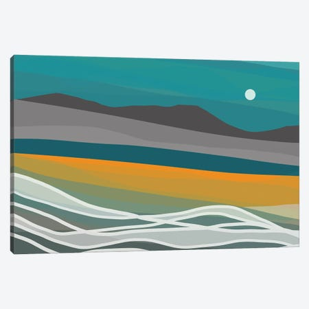 Nightscape Canvas Print #NKW54} by Nikol Wikman Canvas Artwork