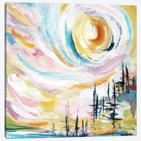 Candy Skies Canvas Print #NKW80} by Nikol Wikman Canvas Art
