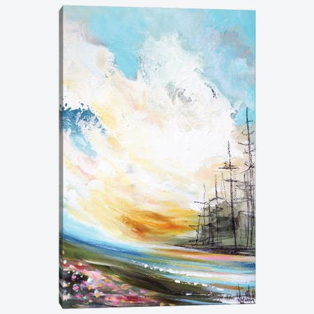 When Morning Comes Canvas Print #NKW86} by Nikol Wikman Art Print