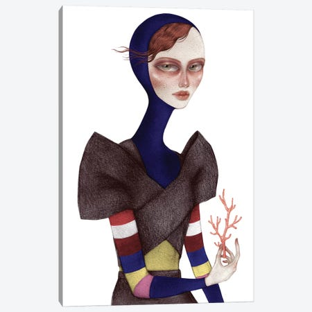 Coraline Canvas Print #NKY13} by Skinny Nicky Canvas Print