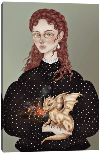 Dragon Keeper Canvas Art Print
