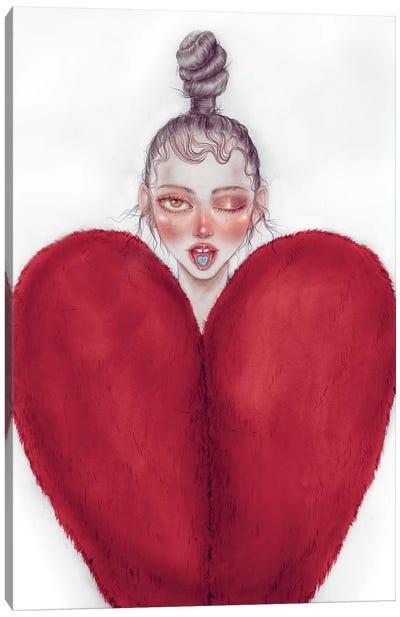 Heart Heart Canvas Art Print
