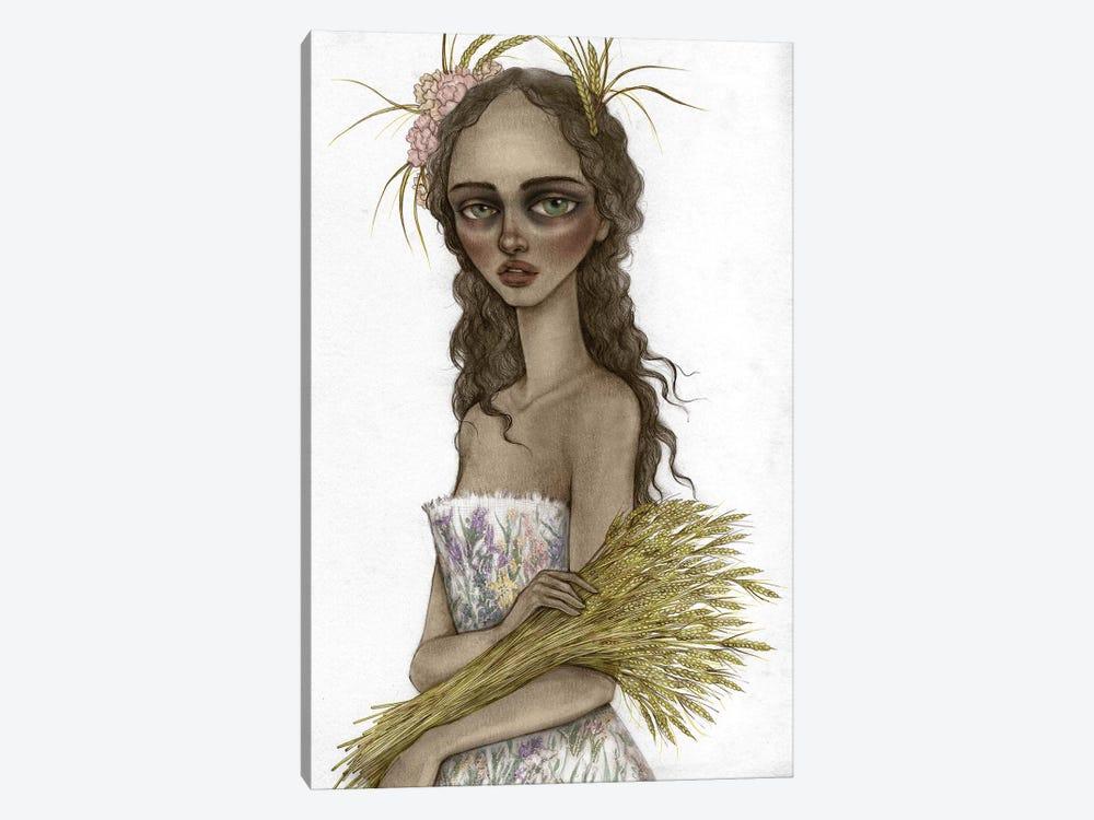 Lady Harvest by Skinny Nicky 1-piece Canvas Art Print