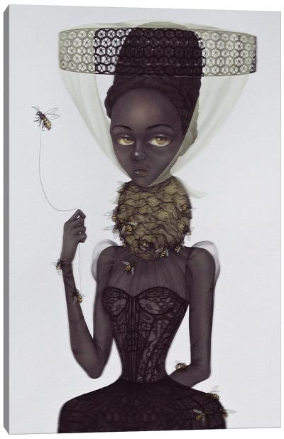 Lady Of The Hive Canvas Art Print