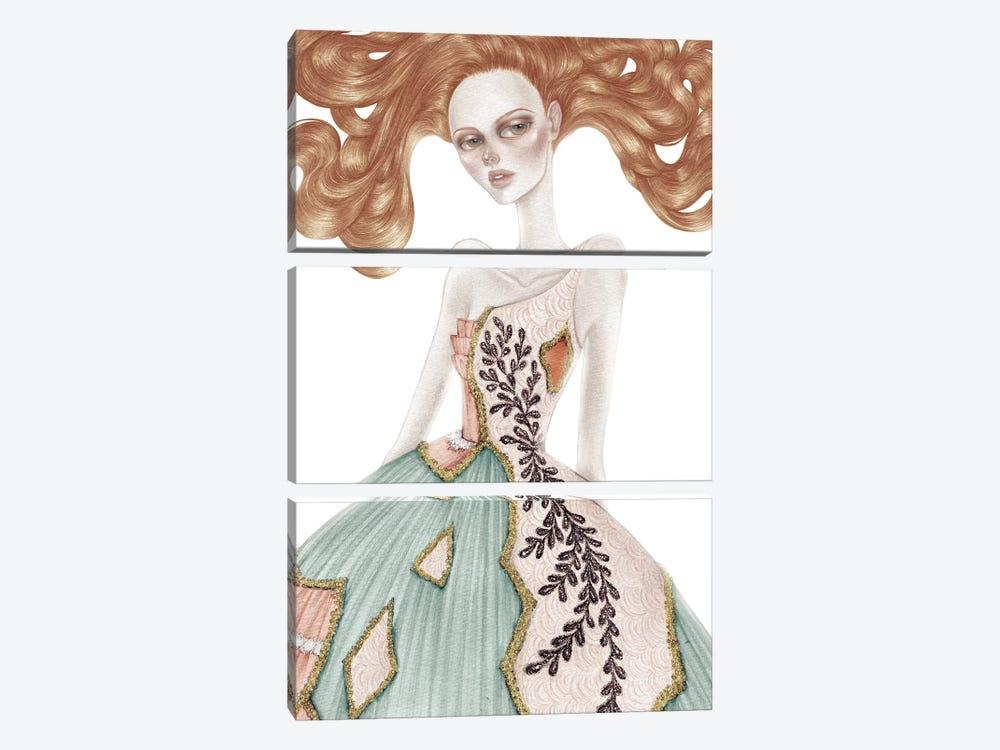 Shattered by Skinny Nicky 3-piece Art Print