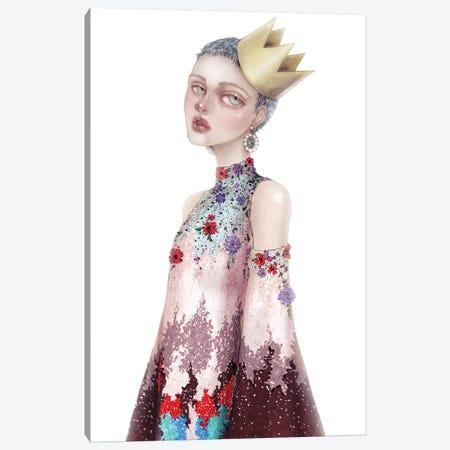 The Little Princess I Canvas Print #NKY32} by Skinny Nicky Art Print