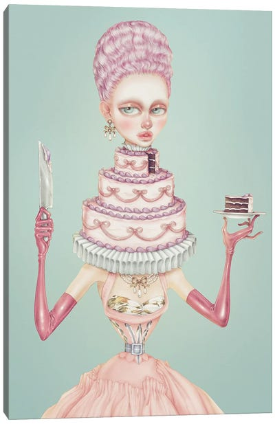 Cake Canvas Art Print