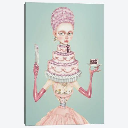 Cake Canvas Print #NKY37} by Skinny Nicky Canvas Artwork
