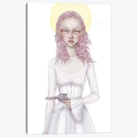 Angelica I Canvas Print #NKY4} by Skinny Nicky Canvas Artwork