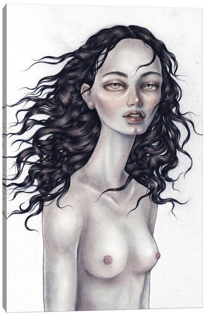 Barenaked Canvas Art Print