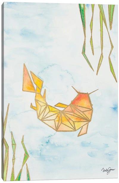 Origami Koi Canvas Art Print