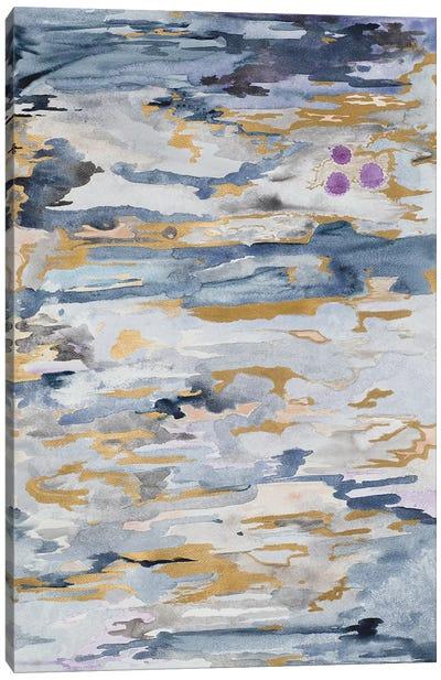 Blue Infinity Canvas Art Print
