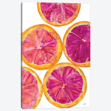 Fruit Punch I Canvas Print #NLA27} by Nola James Canvas Wall Art