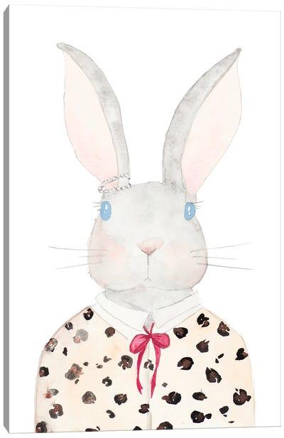 Sweater Rabbit Canvas Art Print