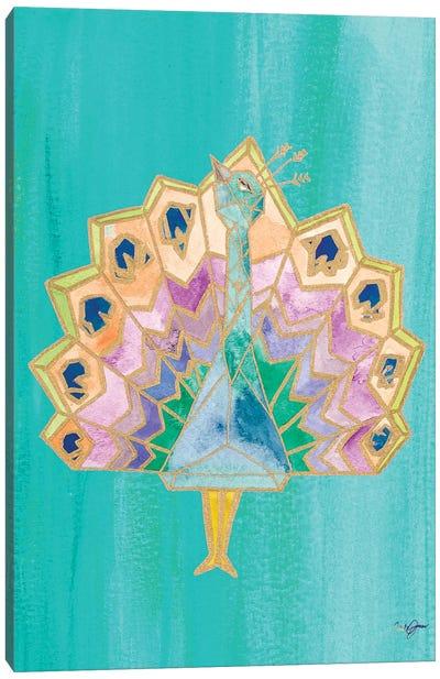 Bright Origami IV Canvas Art Print