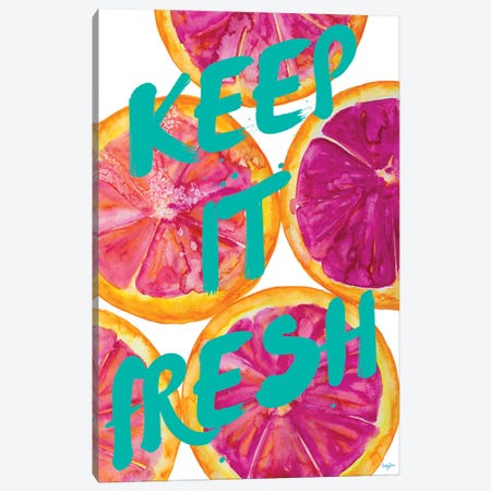 Fresh & Sweet I Canvas Print #NLA6} by Nola James Canvas Wall Art