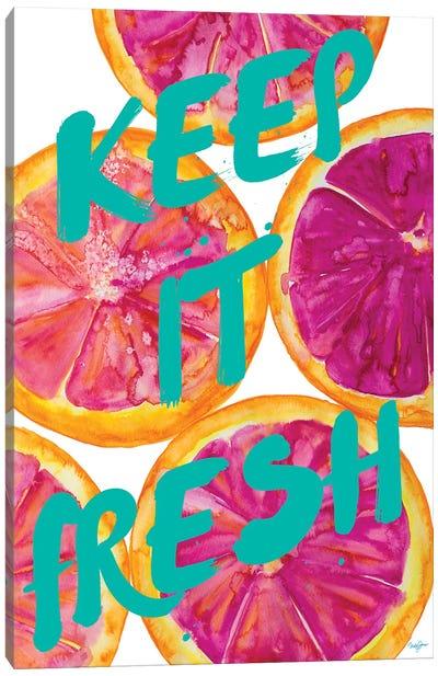 Fresh & Sweet I Canvas Art Print
