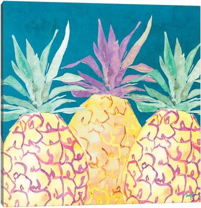 Havana Pineapple Canvas Art Print