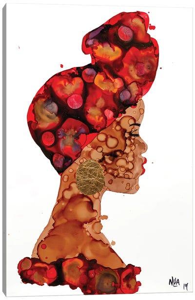 Halima Canvas Art Print