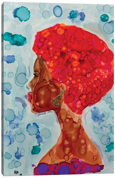 Bintou Canvas Art Print