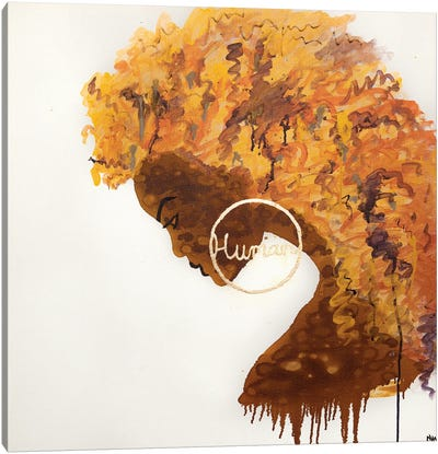 Human Canvas Art Print