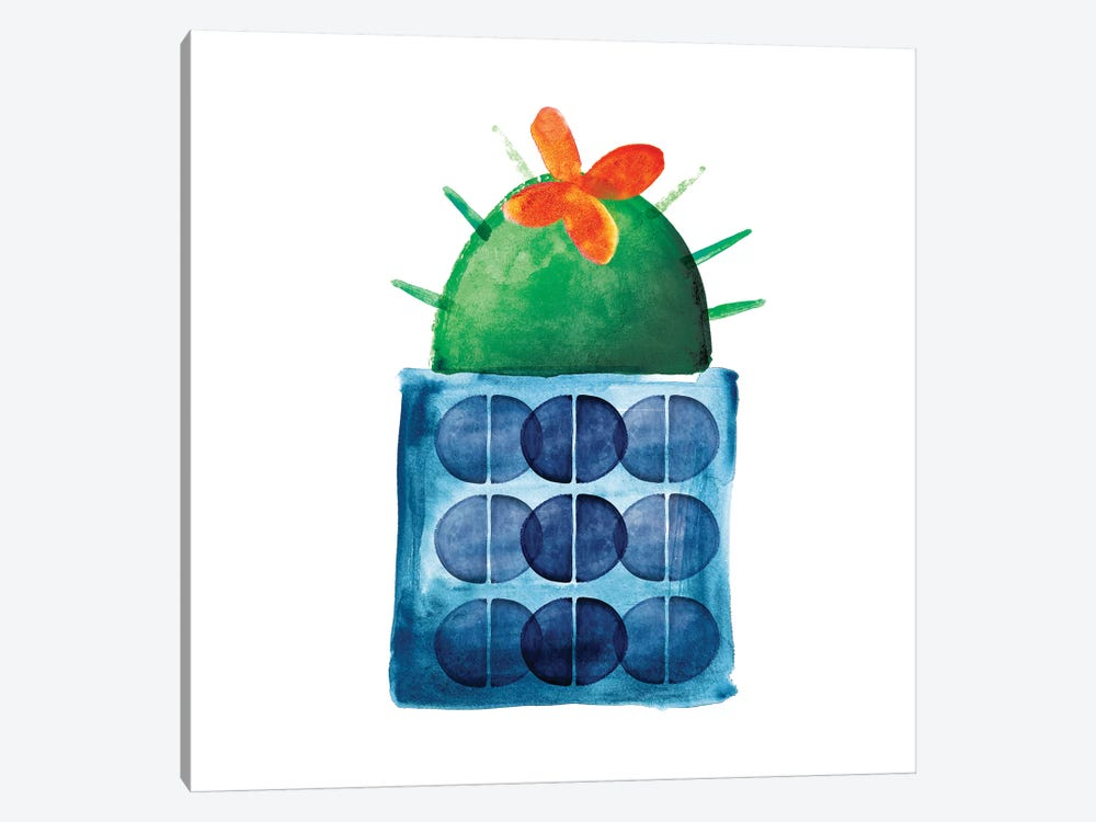 Colorful Cactus IX by Northern Lights 1-piece Canvas Artwork