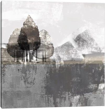 Textured Landscape Canvas Art Print
