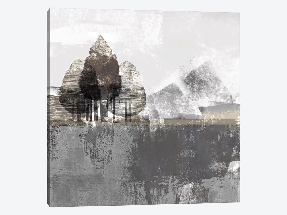 Textured Landscape by Northern Lights 1-piece Art Print