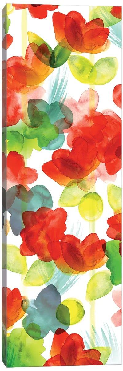 Tropical Floral Panel I Canvas Art Print