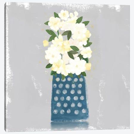 Contemporary Flower Jar I Canvas Print #NLI22} by Northern Lights Art Print