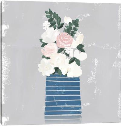 Contemporary Flower Jar II Canvas Art Print
