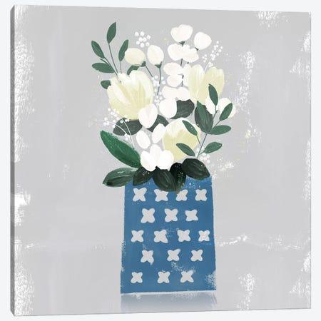 Contemporary Flower Jar III Canvas Print #NLI24} by Northern Lights Canvas Wall Art