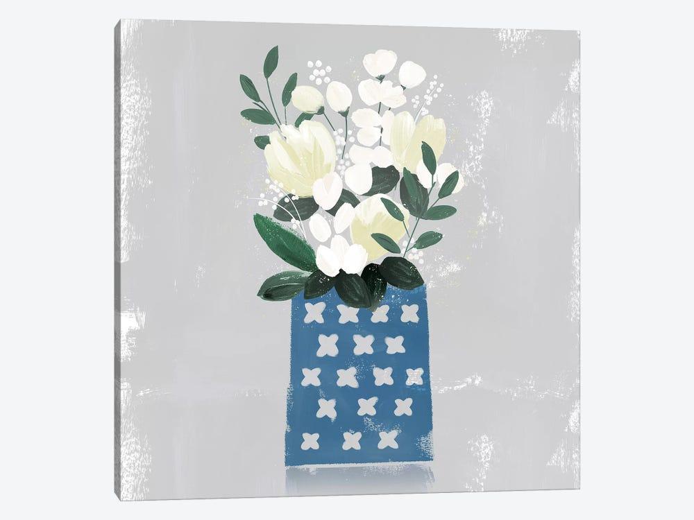 Contemporary Flower Jar III by Northern Lights 1-piece Canvas Wall Art