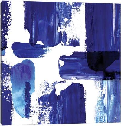 Indigo Abstract III Canvas Art Print
