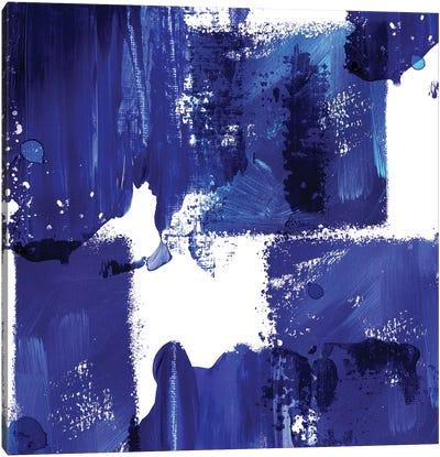 Indigo Abstract IV Canvas Art Print