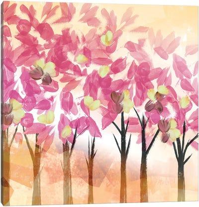 Pink Trees Canvas Art Print