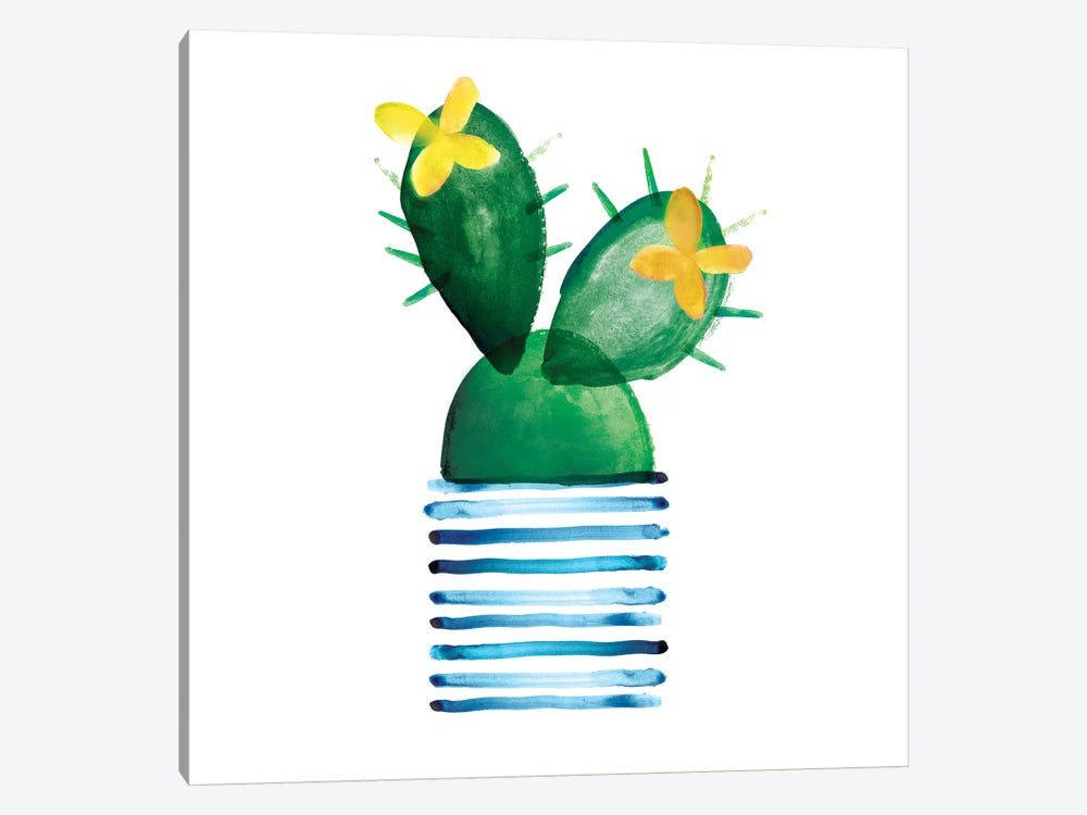 Colorful Cactus I 1-piece Canvas Art