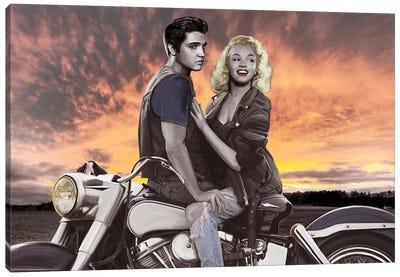 Sunset Ride Canvas Art Print